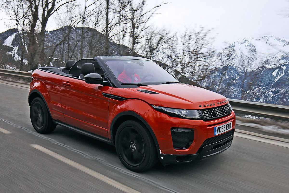 range rover evoque cabrio 2016 im test fahrbericht preis. Black Bedroom Furniture Sets. Home Design Ideas